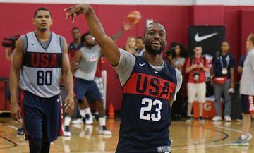 Team USA: Τα φιλικά προετοιμασίας για το Τόκιο