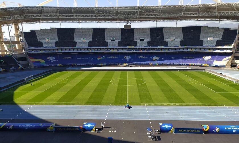 Live Streaming: Βραζιλία - Χιλή (03:00)