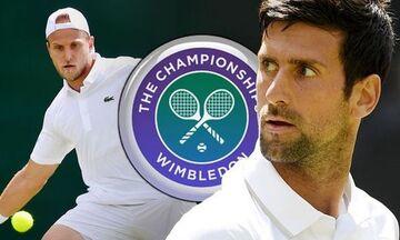 Wimbledon: Νέα, άνετη, νίκη του Τζόκοβιτς που πέρασε στον 4ο γύρο