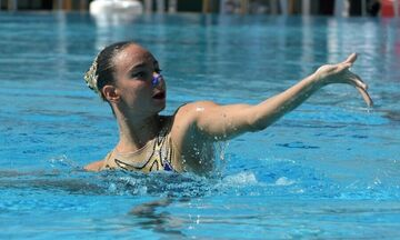Καλλιτεχνική κολύμβηση: Πρόκριση στον τελικό του ελεύθερου προγράμματος σόλο για την Καράγγελου