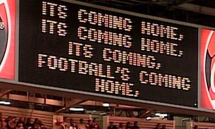 Αγγλία: Στους ρυθμούς ξανά του «It's coming home»! (vid)
