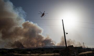 Κεφαλονιά: Τέθηκε υπό πλήρη έλεγχο η πυρκαγιά
