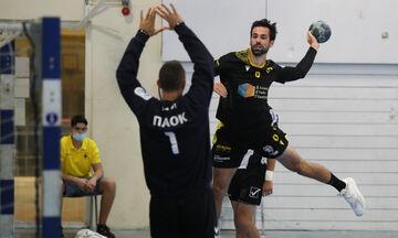 Handball Premier: Πρώτο βήμα τίτλου για την ΑΕΚ με νίκη 36-27 επί του ΠΑΟΚ
