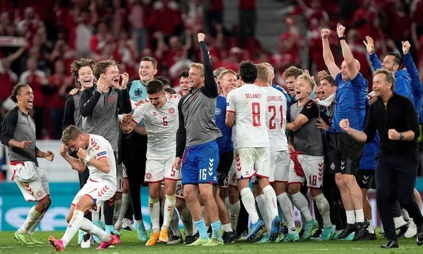 Euro 2020: Υποδοχή ηρώων στη Δανία ενόψει Αγγλίας (vid)