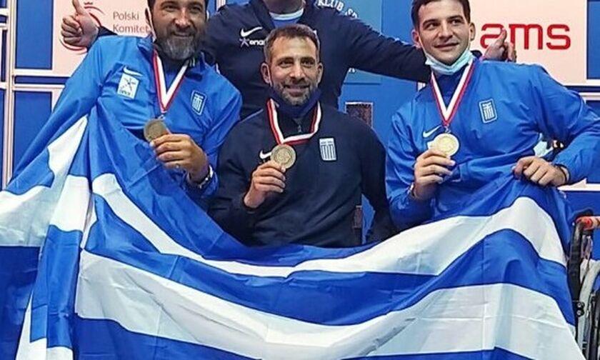 Ξιφασκία με αμαξίδιο: Χάλκινο μετάλλιο η Ελλάδα στην Βαρσοβία