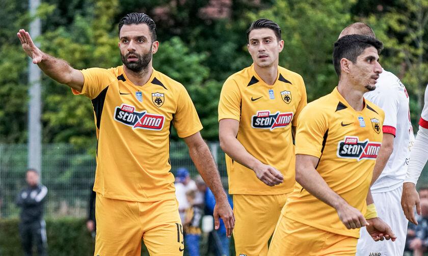 Η ΑΕΚ 2-0 την Αντβέρπ στο ντεμπούτο του Τζαβέλλα