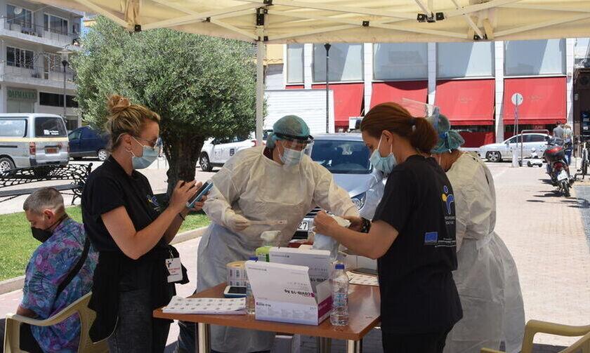 Δωρεάν rapid test: Τα σημεία που βρίσκονται ειδικά κλιμάκια του ΕΟΔΥ (7/7)