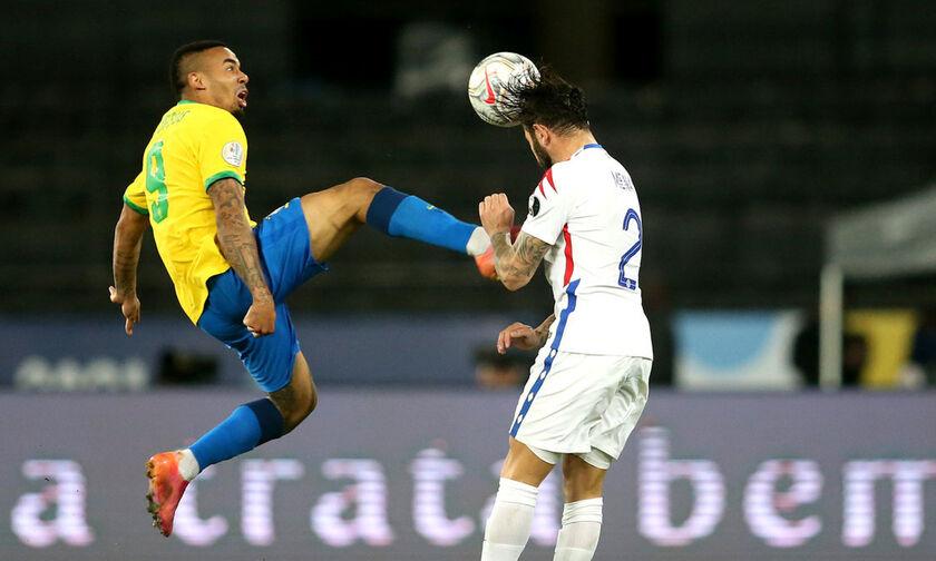 Copa America: Χωρίς Ζεσούς η Βραζιλία στον τελικό με την Αργεντινή