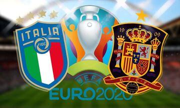 Euro 2020: Αήττητη 33 ματς η Ιταλία, 2 αγώνες πριν από το παγκόσμιο ρεκόρ της Βραζιλίας