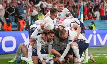 Euro 2020: Η Αγγλία στον τελικό, κέρδισε 2-1 με πέναλτι στην παράταση τη Δανία  (highlights)!