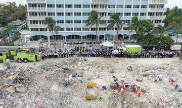 Μαϊάμι: Τέλος στην έρευνα για επιζώντες - Στους 54 οι νεκροί, 86 οι αγνοούμενοι
