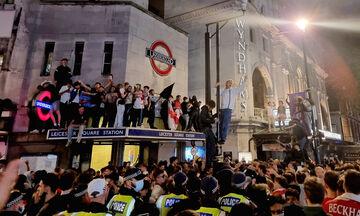 Euro 2020: Συλλήψεις στο Λονδίνο κατά την διάρκεια των πανηγυρισμών!