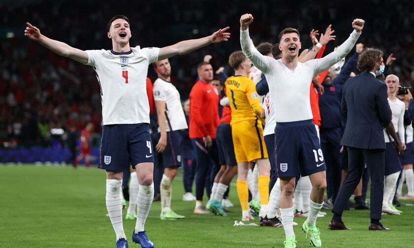 Euro 2020: Ρεκόρ τηλεθέασης, 27,6 εκατομμύρια είδαν τον ημιτελικό Αγγλία-Δανία