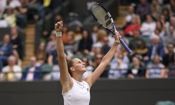Wimbledon: Η Πλίσκοβα νίκησε την Σαμπαλένκα και πέρασε στον τελικό