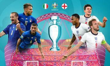 Ο τελικός Ιταλία – Αγγλία, το κανάλι, η ώρα, το pre game, ποιοι περιγράφουν