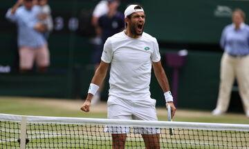 Wimbledon: Προκρίθηκαν στον τελικό Τζόκοβιτς και Μπερετίνι