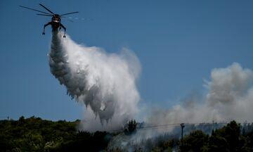 Βαρνάβας: Δυσκολεύει η κατάσταση - Στη μάχη κατά της φωτιάς και το ρωσικό Beriev-200
