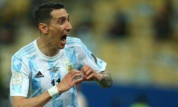 Αργεντινή - Βραζιλία: Το εκπληκτικό γκολ του Ντι Μαρία από όλες τις λήψεις (vid)