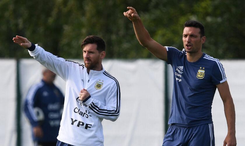 Σκαλόνι: «Ο Μέσι έπαιξε τραυματίας στον τελικό του Copa America»