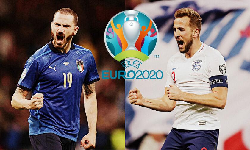 Εuro 2020: Τελικός Ιταλία - Αγγλία: Το παιχνίδι του «στέμματος»!