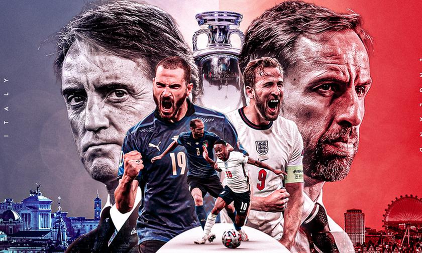 Euro 2020: Οι αποδόσεις των στοιχηματικών εταιριών για τον τελικό Ιταλία-Αγγλία