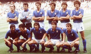 Εuro 2020: Επιστολή εμψύχωσης των Ιταλών διεθνών του Μουντιάλ του 1982 προς τη «σκουάντρα ατσούρα»!