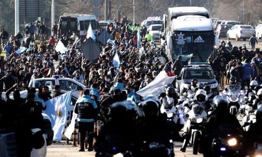 Copa America: Υποδοχή ηρωών, στο Μπουένος Άιρες, στην τροπαιούχο Εθνική Αργεντινής του Μέσι!
