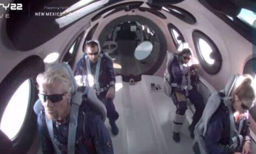 Ρίτσαρντ Μπράνσον: Πέταξε στο διάστημα και έγραψε ιστορία