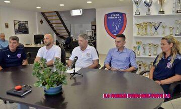 Φοίνικας Σύρου: Παρουσιάστηκε ο νέος προπονητής