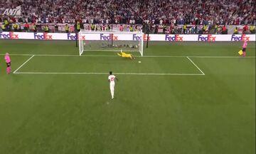 Ιταλία - Αγγλία  3-2: Η διαδικασία των πέναλτι - Ο Ντοναρούμα έδωσε την Κούπα! (vid)