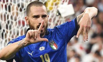 Η φανέλα της Ιταλίας είναι βαριά, ασήκωτη για αυτή την Αγγλία