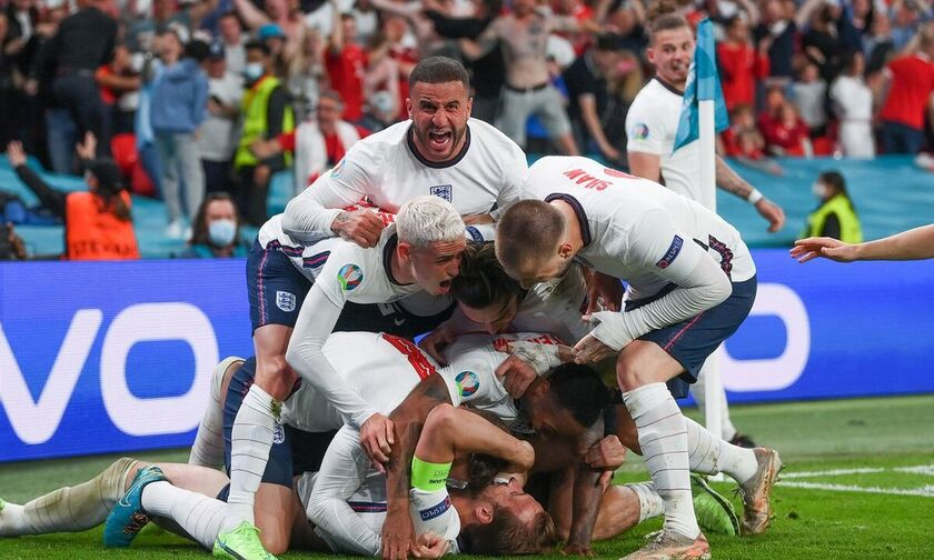 Euro 2020: Οι παίκτες της Αγγλίας έκαναν πάρτι μετά τον τελικό