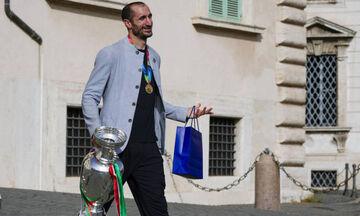 Euro 2020: Αναφορά του Κιελίνι κατά τη δεξίωση στο Προεδρικό Μέγαρο στον αδικοχαμένο Αστόρι!