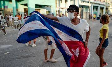 Κούβα: Ένας άνδρας νεκρός σε αντικυβερνητική διαδήλωση