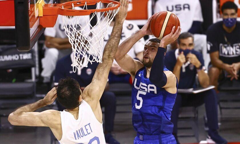 ΗΠΑ - Αργεντινή 108-80: Ξέσπασε η Team USA!