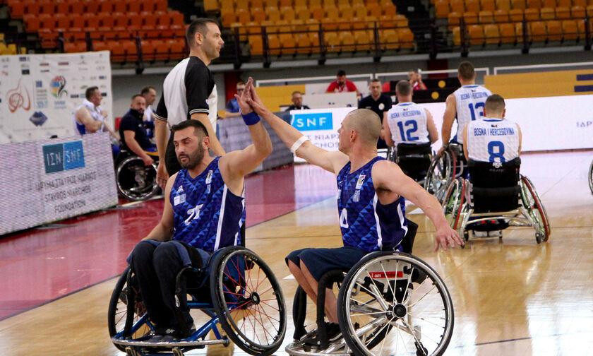 Εθνική ομάδα μπάσκετ με αμαξίδιο: Ήττα και από τη Βοσνία με 69-58