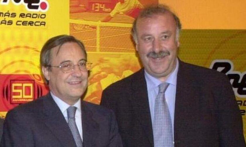 Πέρεθ: Άσχετος με την προπονητική ο Βιθέντε Ντελ Μπόσκε!