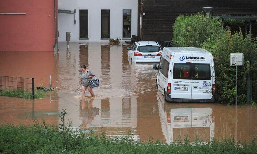 Γερμανία: Έξι νεκροί και δεκάδες αγνοούμενοι από πλημμύρες