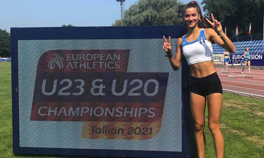 Ευρωπαϊκό Κ20: Φοβερή Καλλιμογιάννη πρόκριση στον τελικό των 3.000μ. στιπλ με πανελλήνιο ρεκόρ