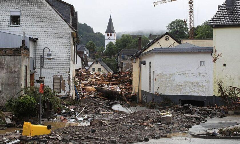 Γερμανία: Στους 11 οι νεκροί από τις πλημμύρες - Αυξάνονται οι αγνοούμενοι