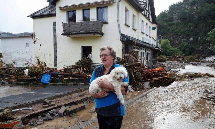 Γερμανία: Στους 20 οι νεκροί από τις πλημμύρες