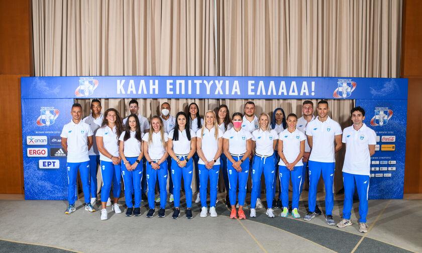 Έτοιμοι για Τόκιο οι Έλληνες αθλητές του στίβου