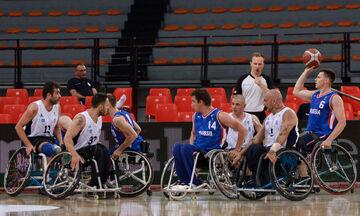 Εθνική μπάσκετ με αμαξίδιο: Ήττα και από τη Ρωσία (57-71)