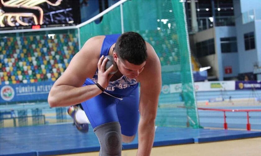 Στίβος: Έβδομος στη σφαιροβολία στο Ευρωπαϊκό πρωτάθλημα ο Γεννίκης