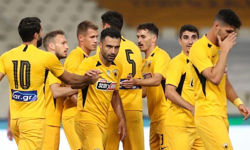ΑΕΚ-Απόλλων Λεμεσού 3-0: Νικηφόρα η Ευρωπαϊκή... πρόβα των «κιτρινόμαυρων» (Highlights)!