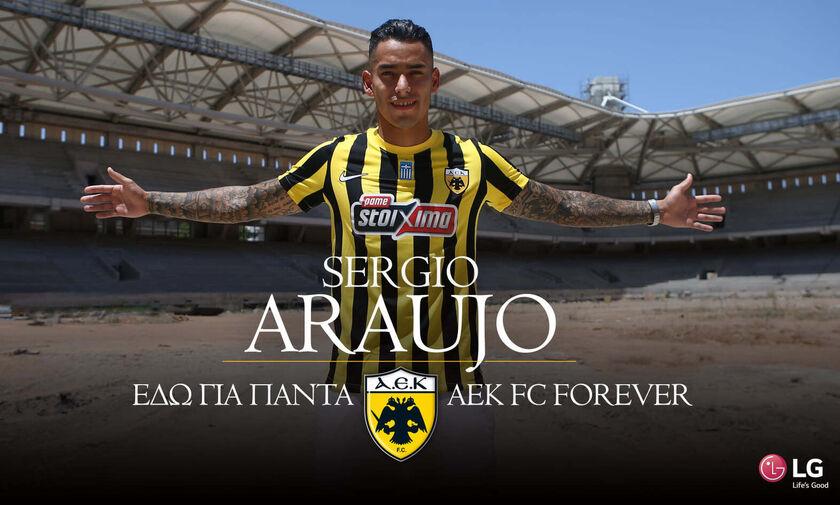 Και επίσημα στην ΑΕΚ ο Αραούχο: «Επέστρεψα στο σπίτι» (vid)