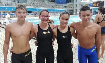 Πανελλήνιο Πρωτάθλημα κολύμβησης κατηγοριών: Ρεκόρ το ΝΤΕΡΗ και ΣΚ Ροή