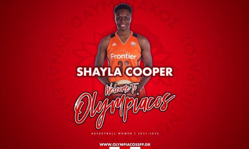 Ολυμπιακός: Σούπερ κίνηση με Σάιλα Κούπερ (vid)