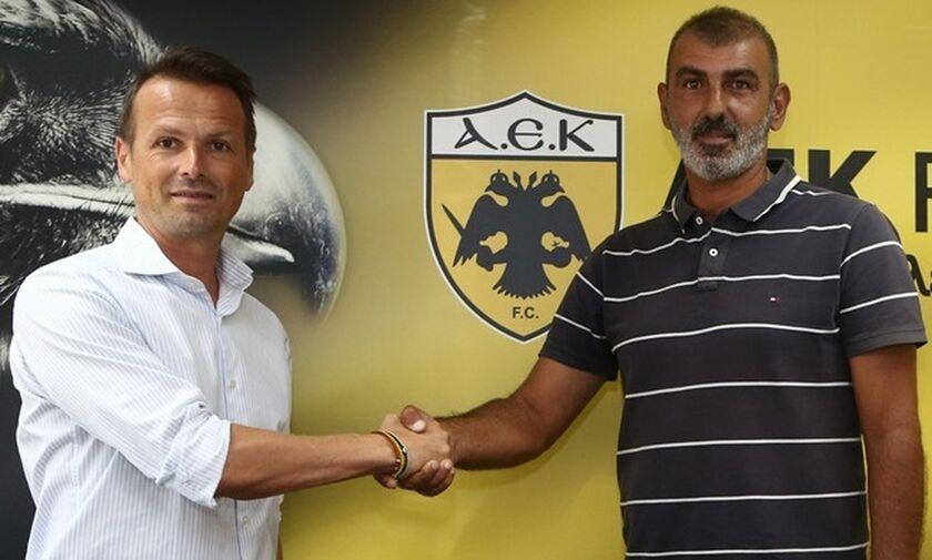 Επίσημο: Προπονητής της ΑΕΚ Β' ο Οφρυδόπουλος