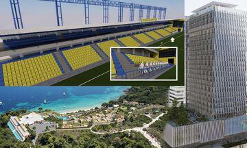 Συμβούλιο Αρχιτεκτονικής: Ανακαίνιση Πύργου Πειραιά, νέα κερκίδα στο γήπεδο του Παναιτωλικού
